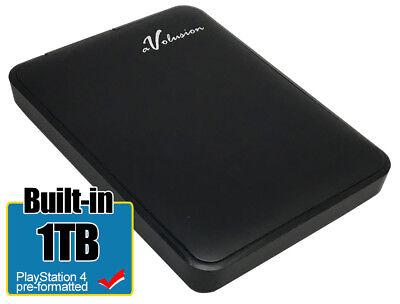 Avolusion 1TB USB 3.0 (PS4 Pre-Formatted) External PS4 Hard Drive (Slim & Pro) - Pro 1 Tb Usb