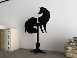 Fox - Silhouette Table Clock