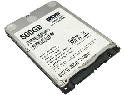 New MDD 500GB 5400RPM 64MB Cache SATA 6.0Gb/s Slim 7mm 2.5