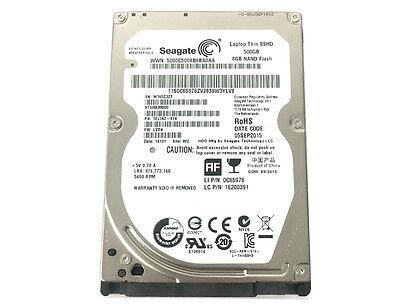 """New Seagate ST500LM000 500GB 64MB Cache SATA 6.0Gb/s 2.5"""" SSHD Laptop Hard Drive"""