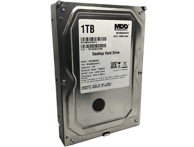"""New MDD 1TB 64MB Cache SATA 6Gb/s 3.5"""" Desktop Hard Drive -P"""