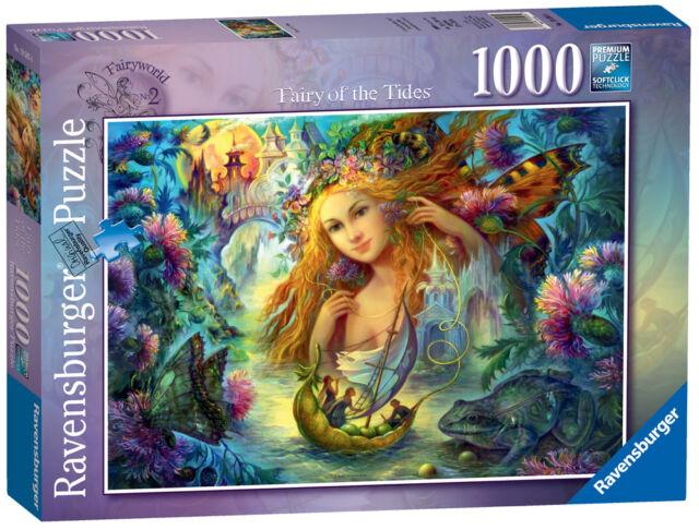New! 19595 Ravensburger Fairyworld No.2 Jigsaw Fairy of the Tides 1000pc Puzzle