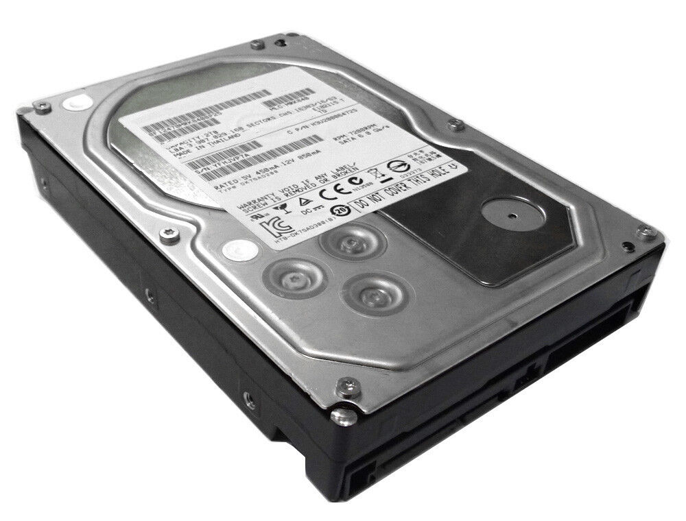 "Hitachi 2TB 64MB Cache 7200RPM SATA 6Gb/s 3.5"" Hard Drive -PC/MAC, NAS, CCTV DVR"