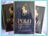 Various RALPH LAUREN POLO Aftershaves from £22 to £75