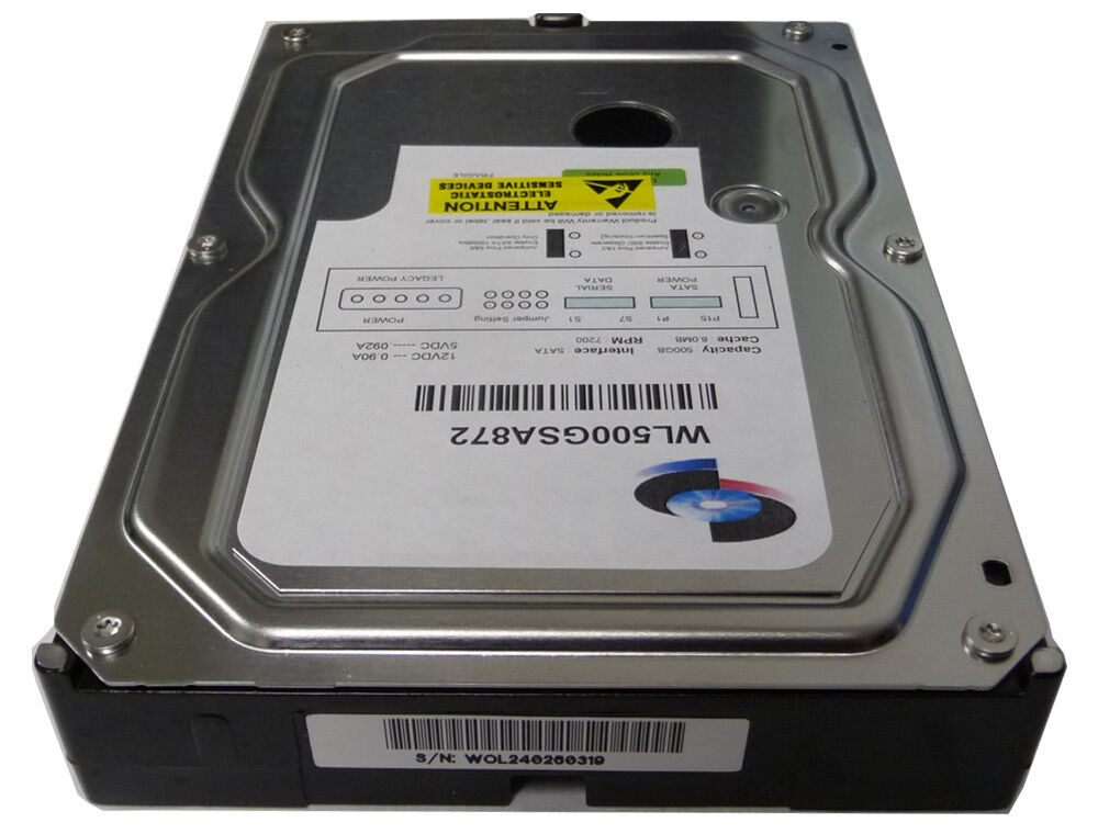 "New 500GB 8MB SATA2 3.5"" Internal Hard Drive for PC/Mac/DVR/CCTV 1 Year Warranty"