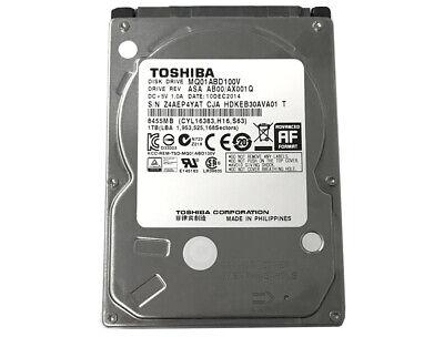 TOSHIBA 1TB MQ01ABD100V 5400RPM SATA 3.0Gb/s 2.5