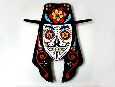 Guy Fawkes Sugar Skull - V for Vendetta - Day of the Dead -Dia de Los Muertos - - Dia De Los Muertos Guy