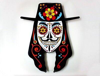 Guy Fawkes Sugar Skull - V for Vendetta - Day of the Dead -Dia de Los Muertos - ](Sugar Skull For Guys)