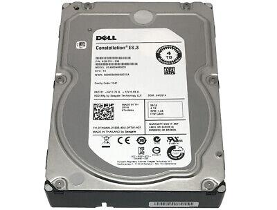 "DELL /Seagate ST4000NM0033 4TB 7200RPM 128MB SATA 6Gb/s 3.5"" Internal Hard Drive comprar usado  Enviando para Brazil"