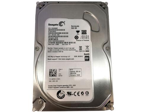 """Seagate Desktop HDD ST500DM002 500GB 16MB Cache 7200RPM SATA III 3.5"""" Hard Drive"""