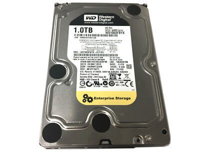 "WD RE4 WD1003FBYX 1TB 7200 RPM 64MB Cache SATA 3.0Gb/s 3.5"" Internal Hard Drive"