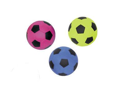 Moosgummi Fußball 9cm Hundespielzeug