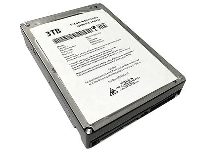 "New 3TB 7200RPM 64MB SATA3 3.5"" Internal Hard Drive -PC/Mac, CCTV DVR ,NAS, RAID"