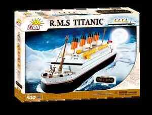 Titanic nev 500 pcs R.M.S 101 th bricks  not lego by COBI ship boat argosy