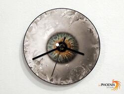 The Eye Ball - Vision - Sight - Staring - Wall Clock