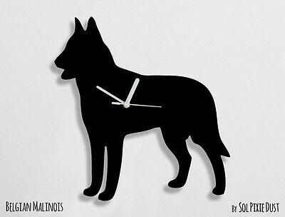 Belgian Malinois Dog Silhouette - Wall -