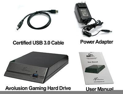 Avolusion (HDDGear) 4TB USB 3.0 External Hard Drive For PS4, PS4 Slim, PS4 Pro