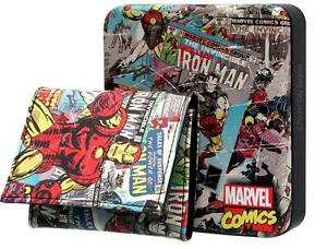 New - MARVEL COLLECTIBLE FOLDING WALLETS - Great for a Collection and a very Cool Gift Idea!