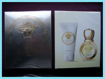 Versace EROS POUR FEMME Gift Set 30ml EDT &, 50ml LOTION - NEW SEALED -UK STOCK