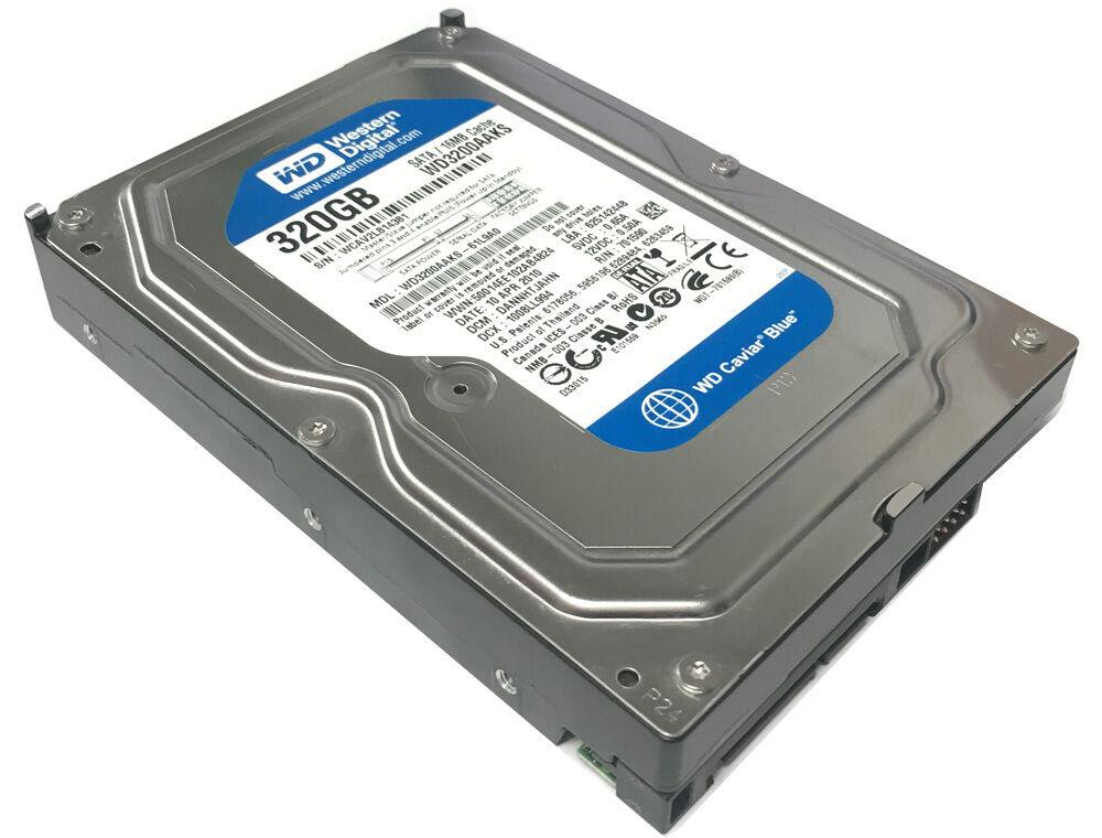 Western Digital WD3200AAKS 320GB 16MB Cache 7200RPM SATA 3.0
