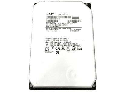 HGST HUS726060ALA640 (0F18335) 6TB 7200RPM 64MB SATA 6.0Gb/s 3.5