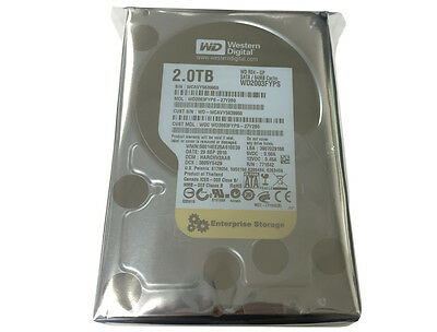 "WD RE4 2TB 64MB Cache SATA3.0Gb/s 3.5"" Enterprise Hard Drive -FREE SHIPPING"
