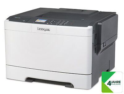 LEXMARK CS417dn Farblaser-Drucker (A4, Drucker, Duplex, Netzwerk,