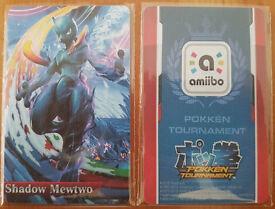 Shadow Mewtwo Amiibo (nfc card)