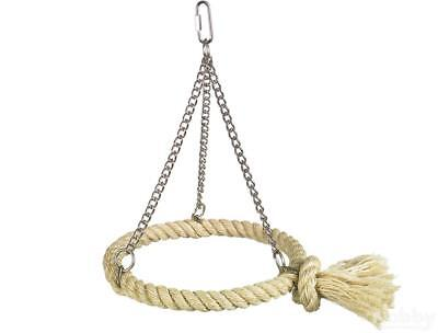 Nobby Cage Toy, Sisal Schaukel Ring natur
