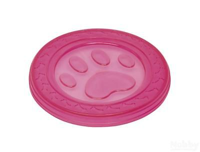 Nobby TPR Fly-Disc Paw pink 22cm