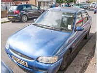 Ford Escort Ghia X TDI 1.8L Diesel 1998, 5 Door, Blue, For Spares or Repair.