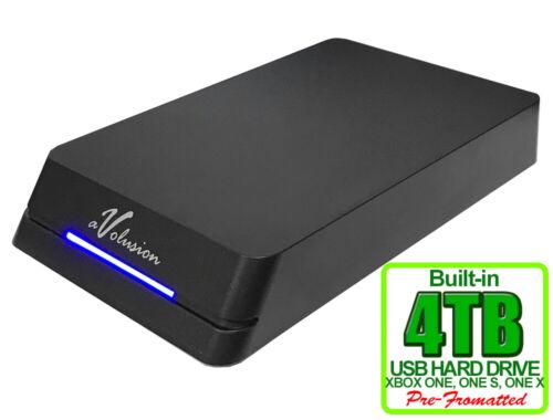 Avolusion 4TB HDDGear Pro External USB 3.0 Gaming Hard Drive for XBOX ONE X, S