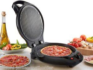 Cooks Professional Pizza Maker & Grill Premium 1500W 12