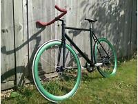 Fixie bike - custom made - great ride , good condition