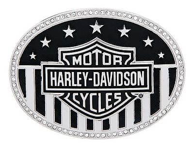 Harley-Davidson Women's American Bling Bar & Shield Belt Buckle HDWBU10769