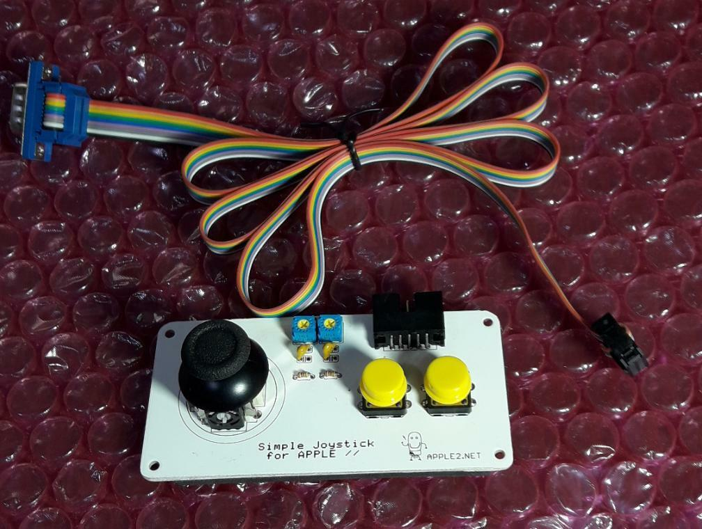 Joystick for APPLE II (//e, //c and IIGS compatible)
