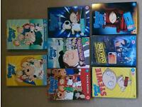 Family Guy DVD selection