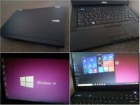 CAN DELIVER new condition fast business and multimedial laptop Dell, warranty, Windows 10, MS Office