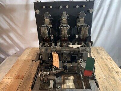 Roller Smith Bd-50-a Air Circuit Breaker 800a 600v Modo