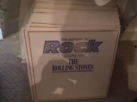 The History of Rock Collection - 24 ALBUMS LPS included . All records at least very good quality.