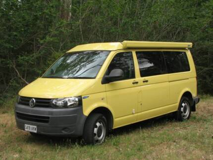 2011 low km's T5 VW camper by Frontline Eden Hills Mitcham Area Preview