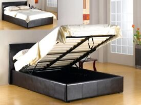FUSION GASLIFT/STORAGE BED BROWN