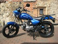NEW ZONTES TIGER 50cc MOPED, OWN FOR £6.55 PER WEEK