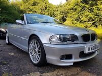 2001 BMW E46 330ci M Sport Convertible Manual Rare NOT M3 CSL 318 320 325 328