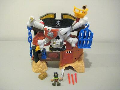 Fisher Price Imaginext Pirate Black Beard's Lair
