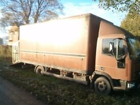 Iveco Horsebox 7.5t only 92000 miles