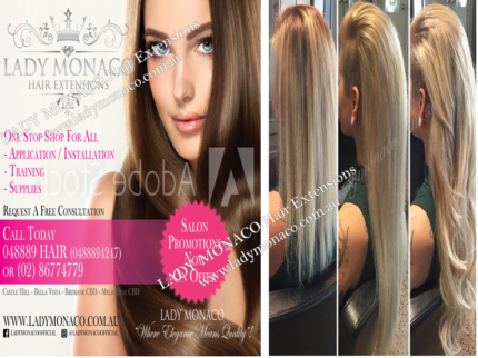 Luxury Hair Extensions Sydney