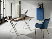 Angel Cedra Desk - Recently bought for 600 pounds, solid- good looking Desk.