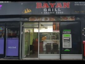 Shop to let - 67 Yardley Road- Great Potential- pizza & Griller