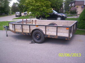 6ft x 10 ft Heavy Duty Home made Trailer